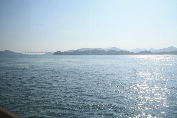 三原の海を眺めながらのモーニングタイム