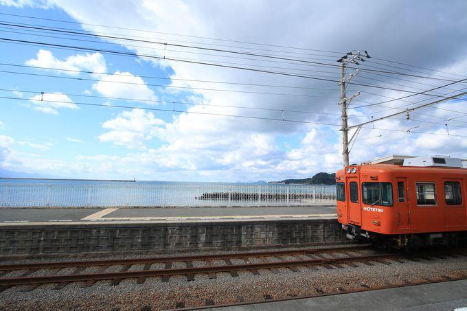 伊予鉄道高浜線、梅津寺駅