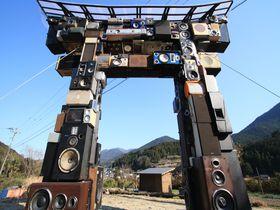 This is カラオケ鳥居!徳島の神山町に新名所が完成|徳島県|トラベルjp<たびねす>