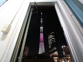 扉の向こうはスカイツリー!押上のゲストハウス「東京ヒュッテ」に泊まろう|東京都|トラベルjp<たびねす>