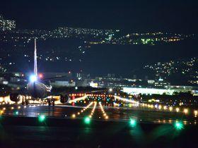 大阪「千里川土手」で伊丹空港離発着の飛行機写真を撮ろう|大阪府|トラベルjp<たびねす>