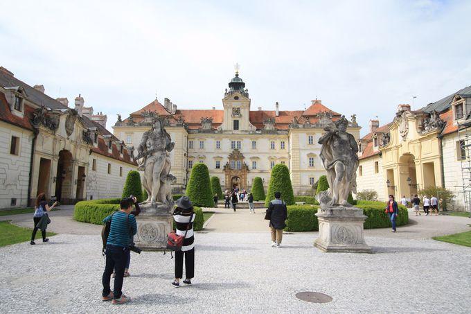 「レドニツェ・ヴァルチツェ地区」では見事な城を見学しよう