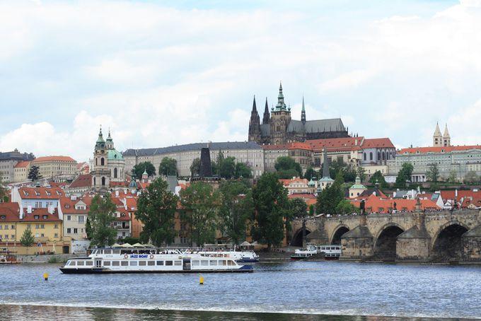 プラハといえばこの景色