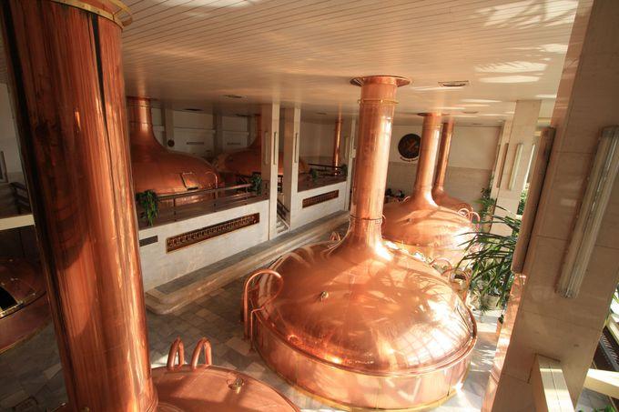 ビール工場へ行こう