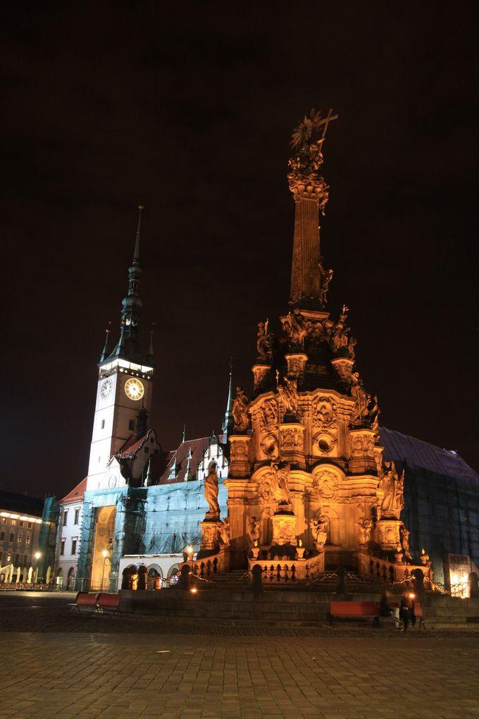 世界遺産、聖三位一体柱