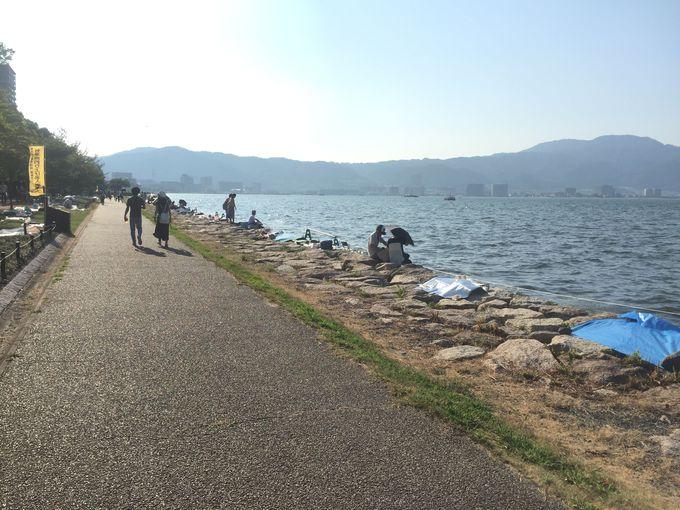 びわ湖花火大会へのアクセスと注意点