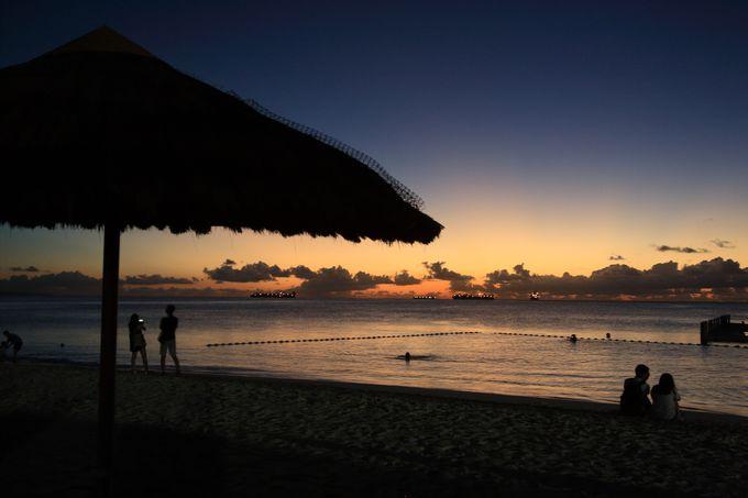 ガラパンエリアの絶景、マイクロビーチ