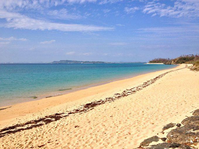沖縄の中でも特に美しいと言われる海