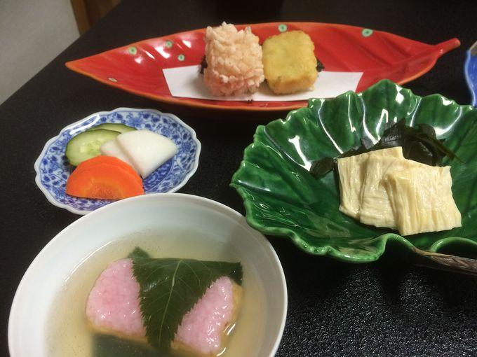 湯葉と曙大豆の豪華な精進料理に満腹