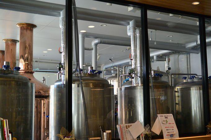 2017年、イギリス人醸造家を招聘しクラフトビールの製造を開始