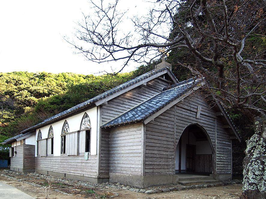 「世界遺産」構成資産候補の木造瓦葺き教会「旧五輪教会堂」は必見