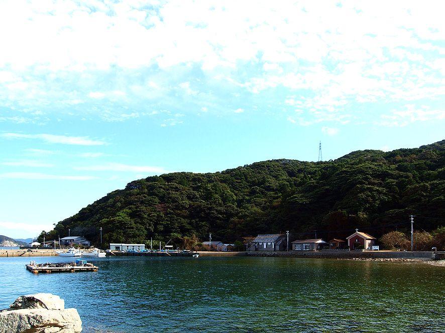 「旧五輪教会堂」は久賀島の東端。アクセスは非常に不便ですが、訪れる価値はあります。