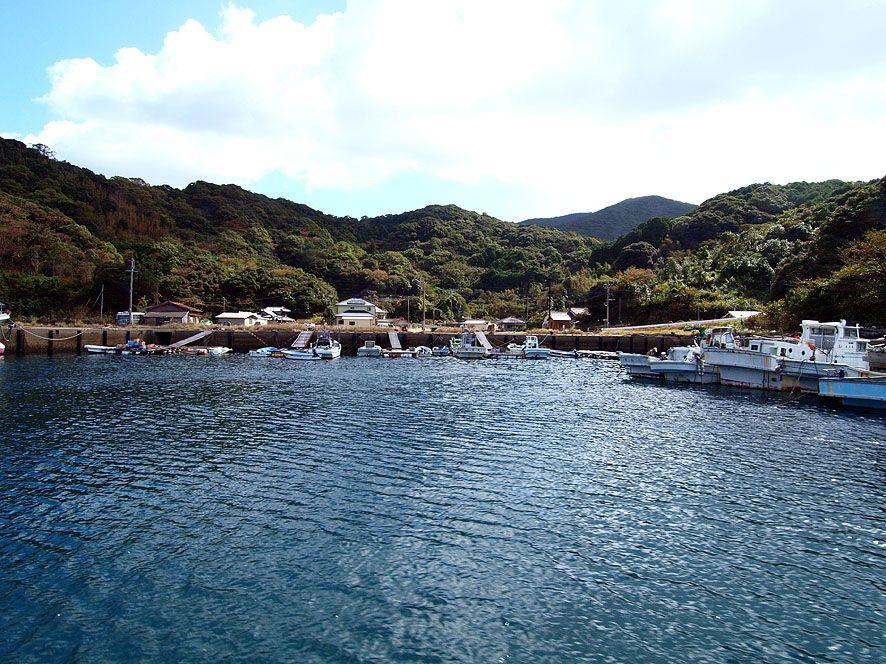上五島で唯一、潜伏キリシタン時代からの組織が残る集落「深浦」