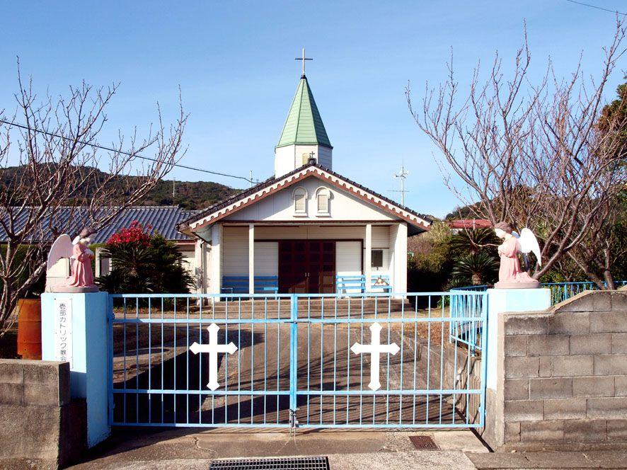 信仰の史跡が集まる北部の町「壱部」