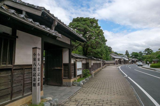 武家屋敷や文豪小泉八雲邸が残る、江戸情緒たっぷりの松江城下町