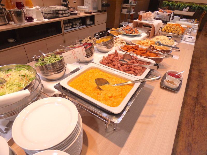 朝食付きの選択がベストチョイス!