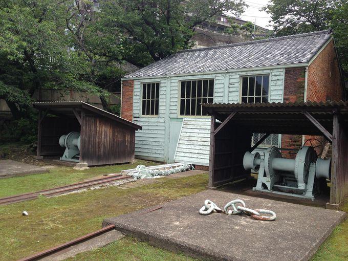 内部公開も始まった曳揚げ小屋は日本最古の本格的煉瓦造り