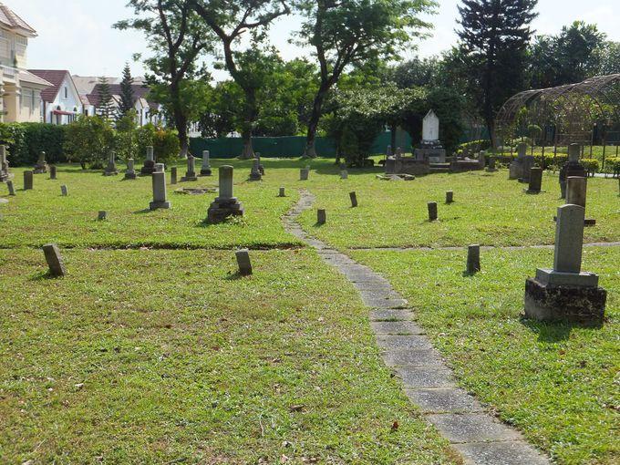 東南アジア最大規模の美しい日本人墓地