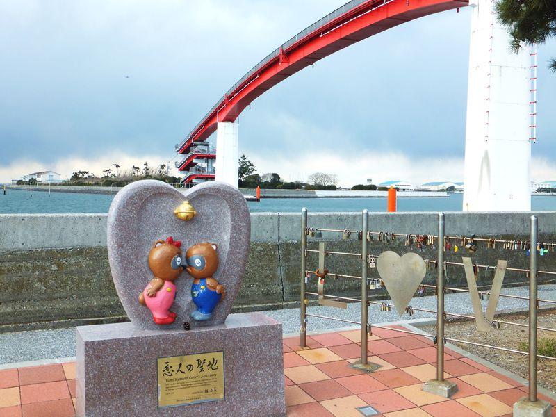 日本一高い歩道橋!木更津「中の島大橋」は恋が叶う伝説の橋