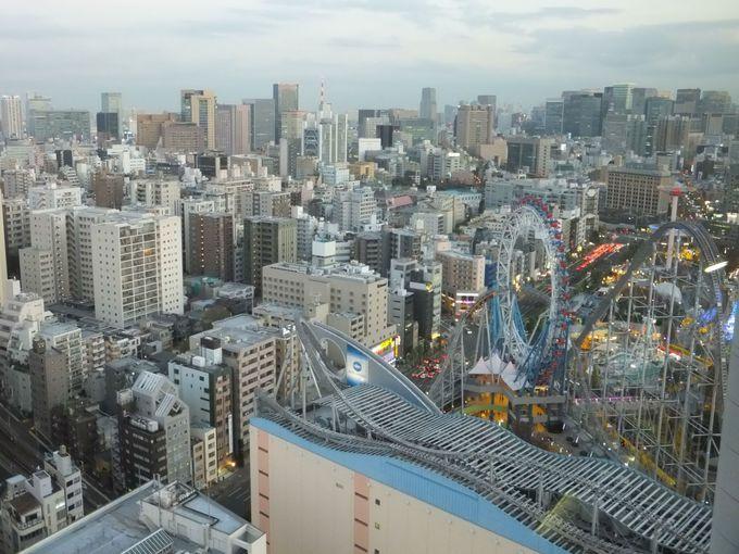 まさに大パノラマ!変化し続ける都市・東京を一望