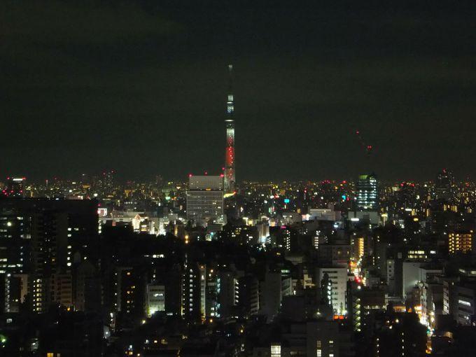 「文京シビックセンター」は夕暮れ時から夜がオススメ!