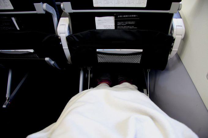 座席シートまわりの細かい配慮がうれしい!