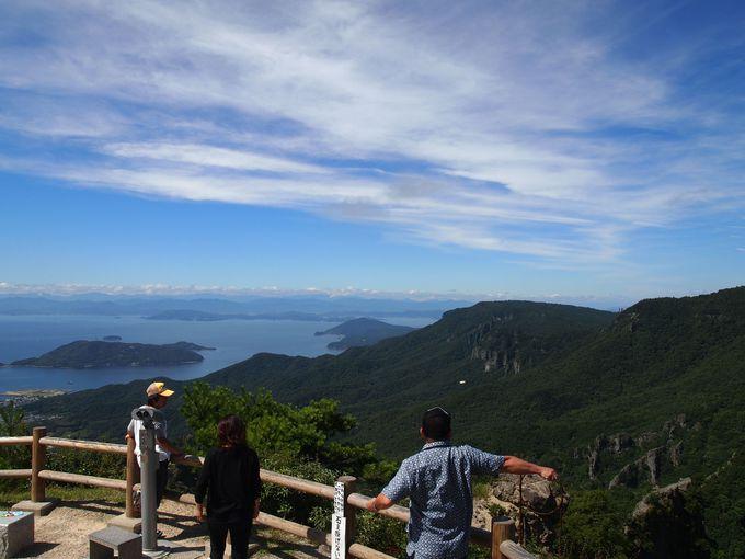大自然に恵まれた小豆島屈指の紅葉名所「寒霞渓」を空中散歩