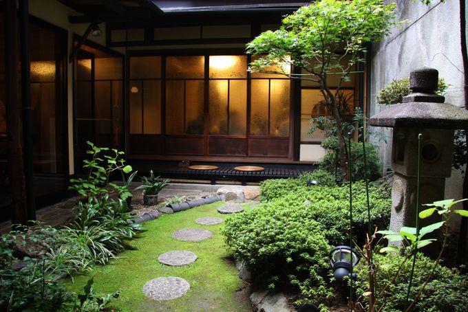坪庭が京都らしい