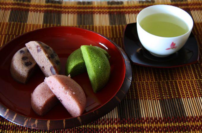 「福壽堂秀信」の和菓子職人が作る蒸しケーキ「ふくふくふ」