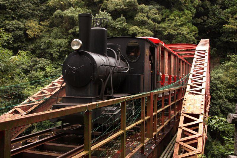 別子銅山の鉱山鉄道で江戸へタイムスリップ!マイントピア別子〜端出場ゾーン〜