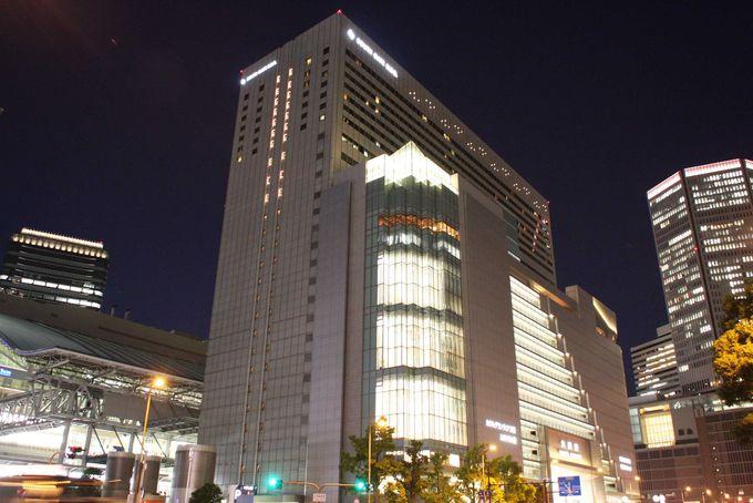 夜景を見ながらカクテルも飲める「ホテルグランヴィア大阪」