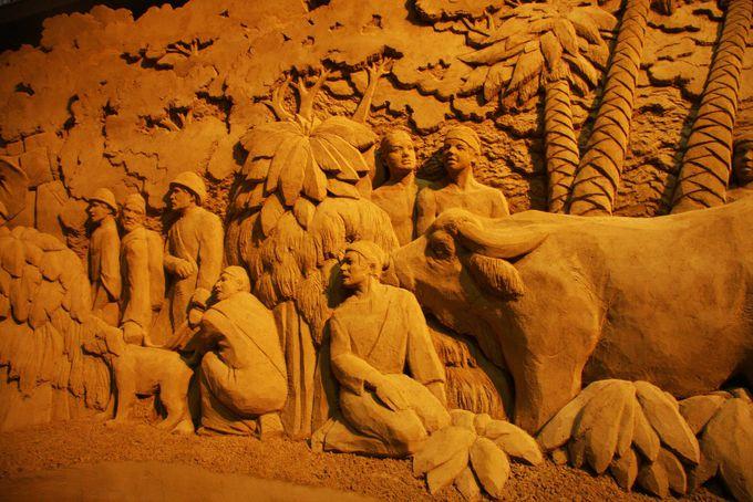 鳥取砂丘 砂の美術館は圧巻の展示物