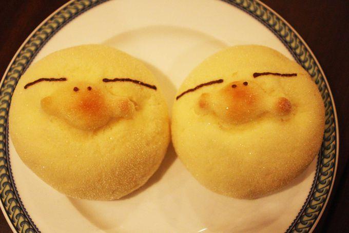 食べるのがもったいない!イコちゃんのメロンパン