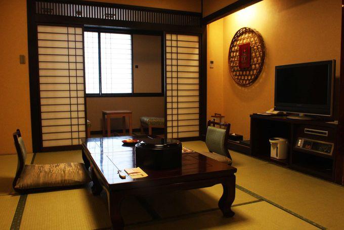 和室、和洋室、ひだっちルームなど部屋の種類が豊富