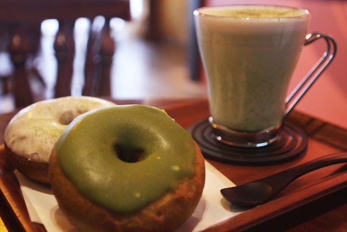 油っこくないさっぱり抹茶ドーナツ「nicotto&mam」