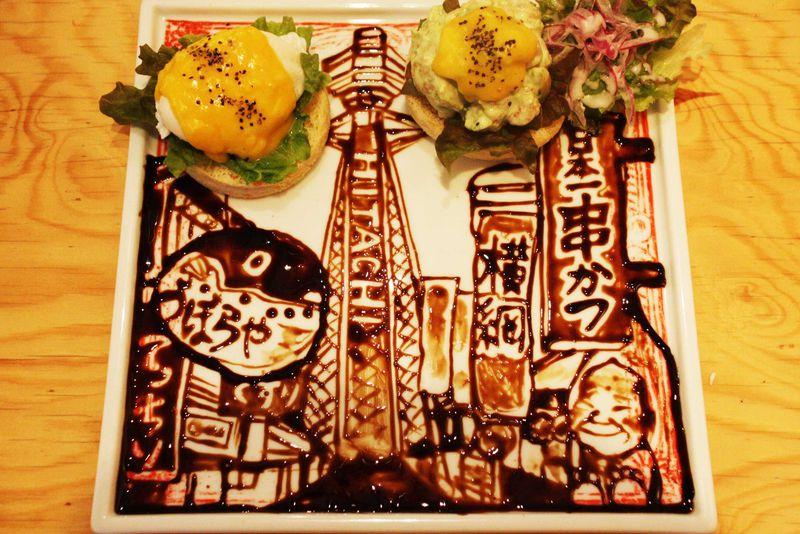 世界に一つだけのアートプレート!大阪・cicaカフェで夢のツーショットも実現?!