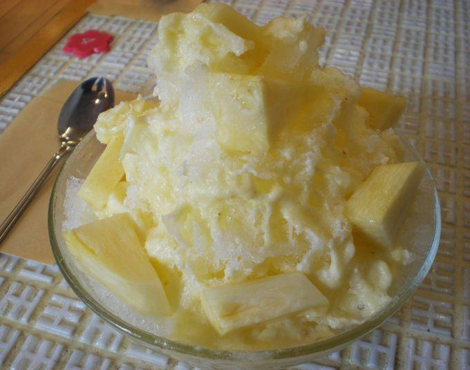 果物専門店のフルーツかき氷に舌鼓!「山口果物」