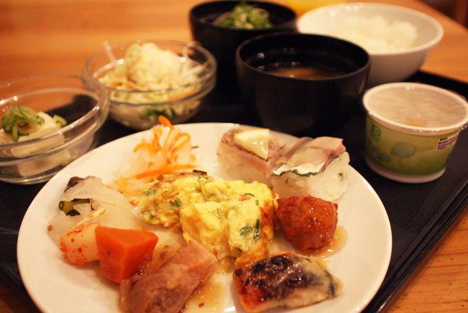 健康朝食で「Lohasな宿泊体験」完結!