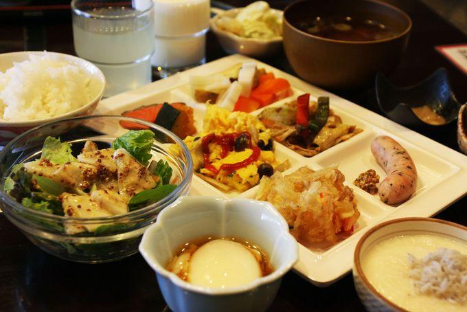 東北のお米食べ比べと岩手の郷土料理が味わえる朝食