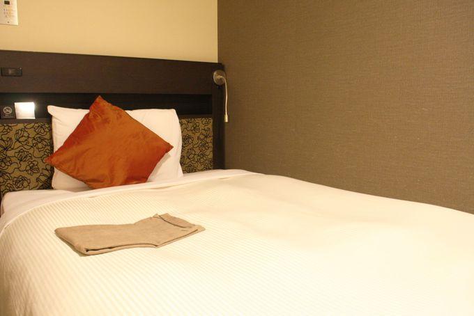 ホテルオリジナル枕で快眠!