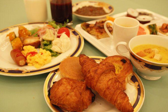こだわりいっぱいの朝食!
