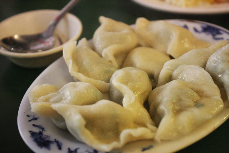台湾の水餃子はモチッとジューシー!青島水餃は手作りならではの味わい