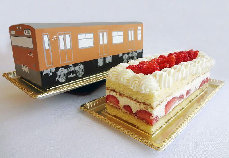 電車が丸ごと食べられる!バレンタインは大阪駅ナカスイーツで恋をGET!