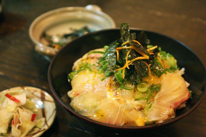 日本一贅沢な卵かけご飯!「宇和島鯛めし」