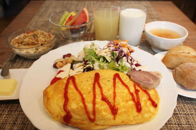 できたての朝食を食べて幸せな気持ちになれる「ロテル・ド・ロテル」