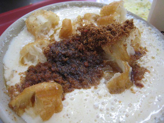 鹹豆漿の食感を楽しみたいなら「永和豆漿大王」