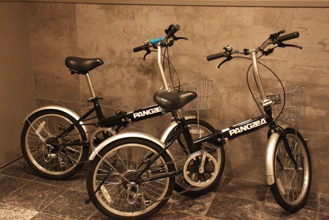 レンタル自転車もあります