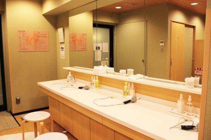 大阪市内中心地で天然温泉に入れる