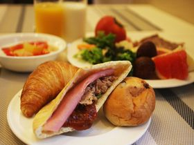 テラスで手作りピタパン朝食!ホテルトラスティ心斎橋でヨーロッパ気分|大阪府|トラベルjp<たびねす>