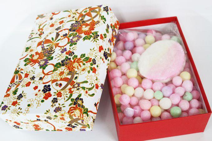 香川の元祖カラフルお菓子「おいり」